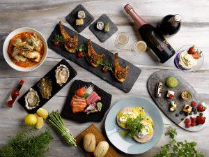 Ẩm thực độc đáo và được trang trí đẹp mắt tại nhà hàng La plage Resort Sheraton