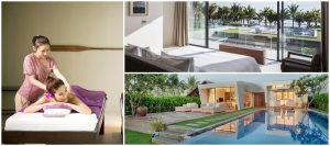 Khu nghỉ dưỡng Naman Retreat Đà Nẵng thu hút du khách với không gian thiết kế sang trọng, hiện đại và dịch vụ chăm sóc sứ khỏe,...