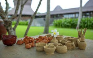 Tham gia lớp học làm đồ gốm và tự tay làm những món đồ mình yêu thích nhất tại khu nghỉ dưỡng Naman Retreat