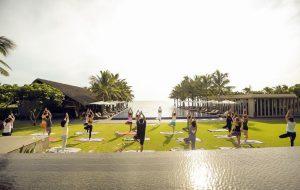 Trải nghiệm tập yoga nâng cao sức khỏe tại khu nghỉ dưỡng Naman Retreat Đà Nẵng