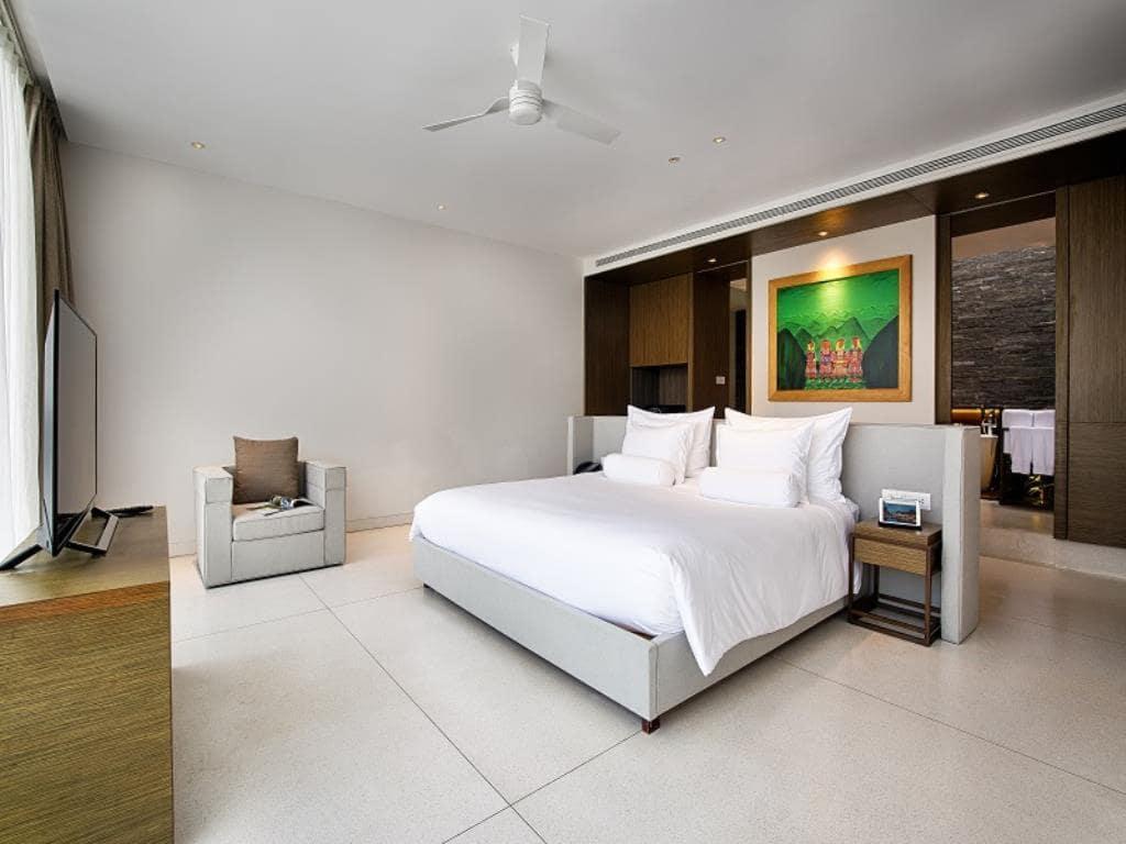 Phòng ngủ tại Naman Resort Đà Nẵng