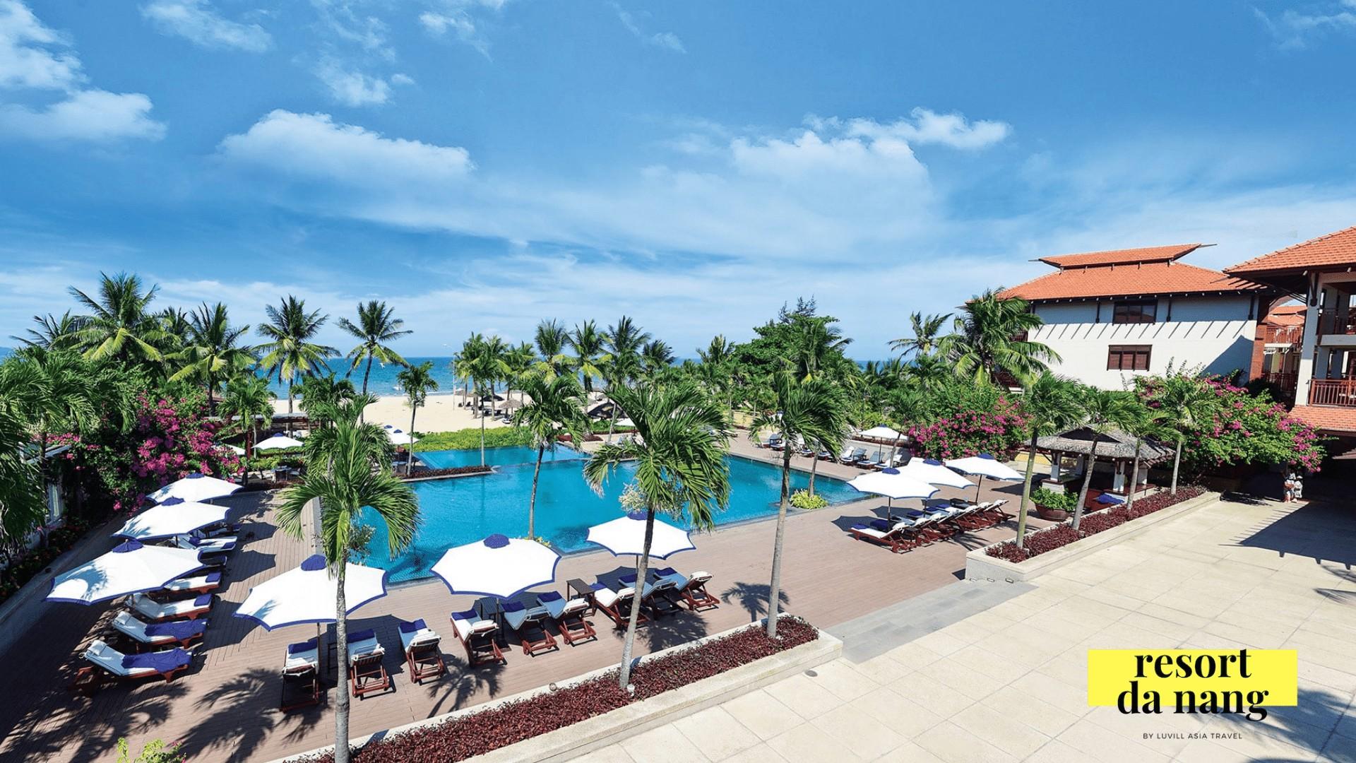 Không gian tuyệt vời tại Resort Furama Đà Nẵng