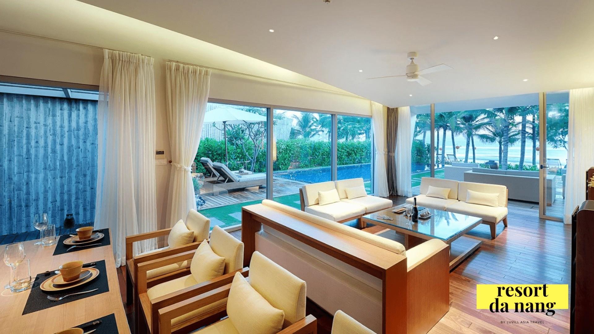 Những căn biệt thự ngay sát biển Non Nước tại Naman Resort Đà Nẵng
