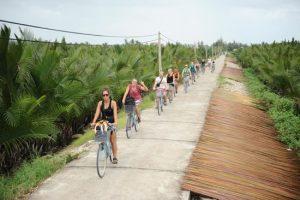 Rừng dừa 7 mẫu thu hút khách du lịch trong và ngoài nước