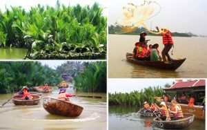 Tận hưởng du lịch tuyệt vời tại Rừng dừa 7 mẫu Hội An