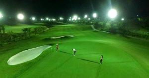Lần đầu tiên tại miền Trung, Bà Nà Hills Golf Club khởi động hệ thống chiếu sáng toàn diện vào ban đêm
