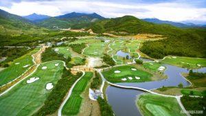 Phong cảnh núi non hùng vĩ tại sân golf Bà Nà Hills Golf Club Đà Nẵng
