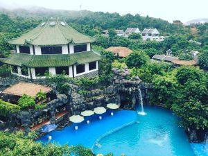 Phong cảnh thiên nhiên thơ mộng tại khu du lịch suối khoáng nóng Núi Thần Tài Đà Nẵng