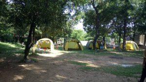 Trải nghiệm picnic, cắm trại rất thú vị cho du khách đến suối Lương Đà Nẵng