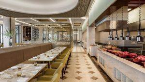 Không gian thưởng thức ẩm thực ấn tượng tại Table 88 Sheraton Đà Nẵng