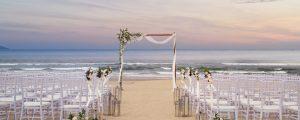 Không gian tổ chức tiệc cưới lãng mạn dành cho các cặp đôi tại Sheraton Đà Nẵng