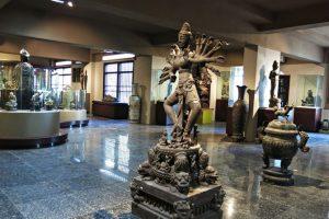 Các hiện vật tại phòng trưng bày Trà Kiệu, bảo tàng Champa Đà Nẵng
