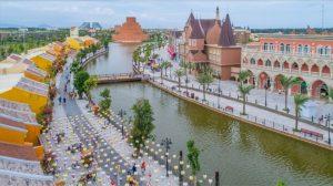 View check in cực đẹp tại Bến cảng giao thoa Vinpearl Nam Hội An