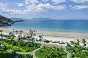 Bãi biển Non Nước - nơi tọa lạc khu nghỉ dưỡng Sheraton Đà Nẵng