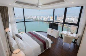 View nghỉ dưỡng ngắm sông Hàn