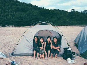 Cắm trại là hoạt động lý tưởng tại Làng Vân Đà Nẵng