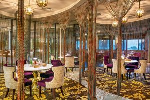 Không gian thưởng thức ẩm thực sang trọng của nhà hàng The Grill
