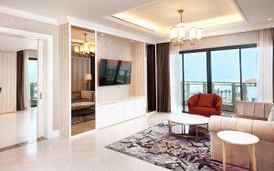 Căn phòng Garden Suite mang đến một không gian nghỉ dưỡng hoàn hảo cho bạn khi đến Sheraton Đà Nẵng