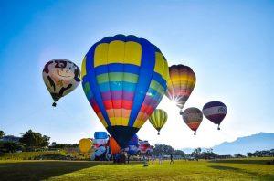 Lễ hội đầy thú vị và độc đáo với những quả khinh khí cầu đầy màu sắc