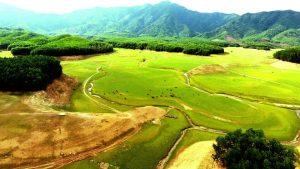 Thảo nguyên thu nhỏ Hồ Hòa Trung chính là địa điểm lý tưởng tổ chức Lễ hội khinh khí cầu