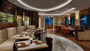 Không gian sang trọng, ấm cúng và tinh tế của nhà hàng The Grill