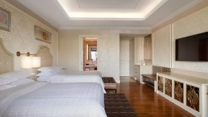 Thiết kế và nội thất căn phòng Deluxe Sea View - căn phòng hướng biển sang trọng tại Sheraton Đà Nẵng