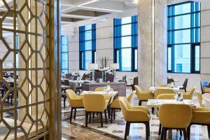 Không gian thưởng thức ẩm thực sang trọng và tinh tế của nhà hàng Table 88 resort Sheraton Đà Nẵng