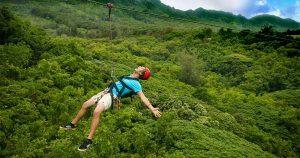 Thử thách lòng can đảm với trò ZipLine tại Hòa Phú Thành Đà Nẵng