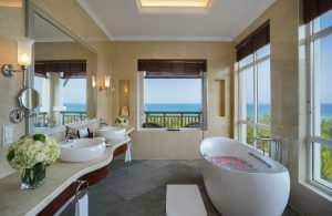 Không gian bồn tắm độc đáo