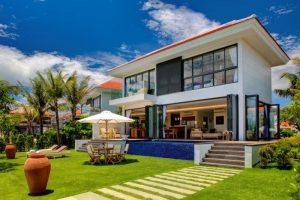 Không gian nghỉ dưỡng xanh mát của The Ocean Villas Đà Nẵng
