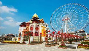 Thỏa sức vui chơi tại Công viên Châu Á Đà Nẵng