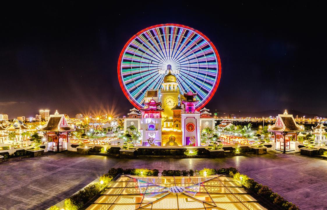 Đắm chìm trong thiên đường tròn chơi Asia Park Đà Nẵng