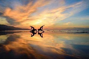 Ngắm vẻ đẹp của bãi biển Mỹ Khê khi hoàng hôn buông xuống