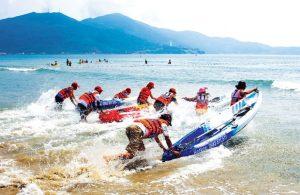 Hoạt động vui chơi, giải trí tại biển Mỹ Khê Đà Nẵng