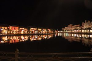 Bến cảng Giao Thoa lung linh về đêm