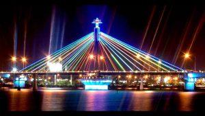 Cầu sông Hàn tuyệt đẹp về đêm