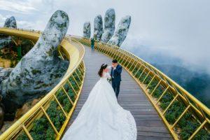 Nhiều cặp đôi lựa chọn nơi đây để chụp ảnh cưới