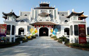 Thiết kế ấn tượng của cổng Công Viên Châu Á