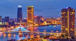 Thành phố Đà Nẵng lung linh về đêm