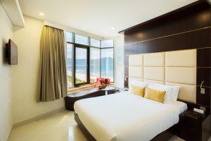 Căn phòng lãng mạn và độc đáo của khách sạn
