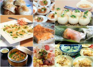 Bánh lọc, bánh nậm, bánh bèo,... là những loại bánh nên thưởng thức khi đến Huế