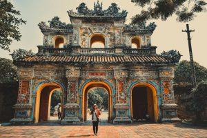 Các lăng tẩm tại Huế luôn mang một nét cuốn hút tâm linh đối với du khách