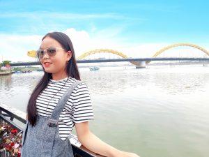 Check in cực chất tại Cầu Rồng Đà Nẵng