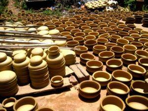 Các sản phẩm từ tay các nghệ nhân làng gốm Thanh Hà