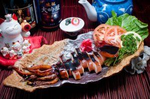 Những món ăn tại nhà hàng Nhật Bản vô cùng hấp dẫn