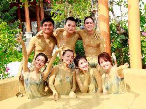Các loại nước khoáng hay bùn tại Phước Nhơn đều tốt cho sức khỏe của du khách