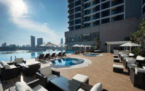 Pool Bar với không gian tuyệt vời