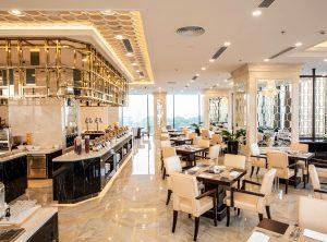 Nhà hàng Hàn River 1 sang trọng và ngập tràn ánh sáng