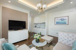 Mỗi góc nhỏ tại phòng đều được thiết kế vô cùng tỉ mỉ và tinh tế